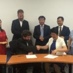 加拿大国立科学研究院与长春理工大学博士联培协议签约